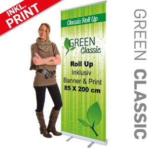 Roll-Up Med Print Classic 85cm